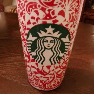 Starbucks Christmas Candy Cane Traveler